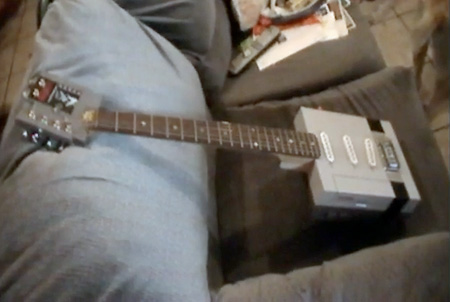 NES Console Made into a Working Guitar