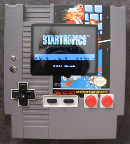 Playable NES in a Cartridge Mod