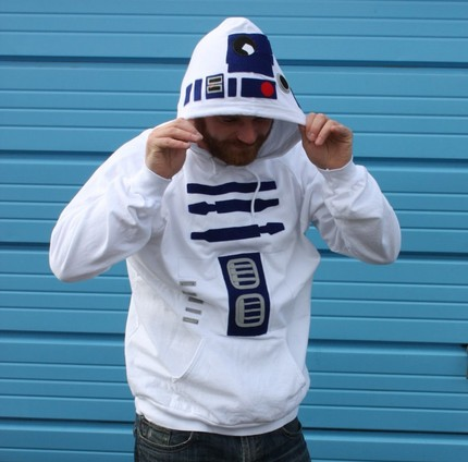 R2D2 Hoodie: Pure Droid Awesomeness
