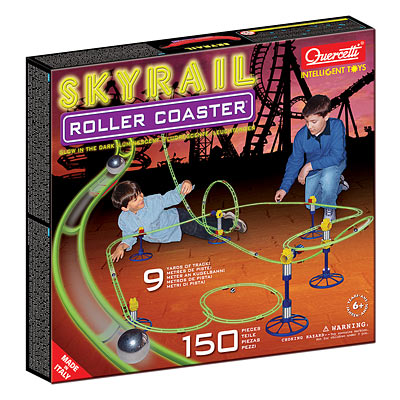 Skyrail Glow in the Dark Rollercoaster is the 2nd Most Fun You Can Have in the Dark