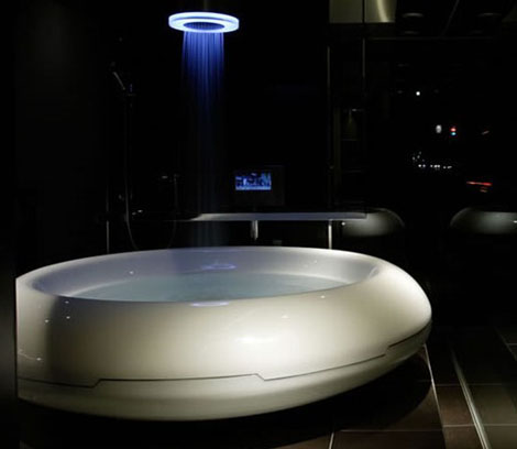 Spaceship Bathtub is Out of this World