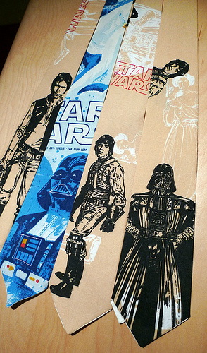 Star Wars Ties Are Ideal for your Next Formal Affair on Alderaan