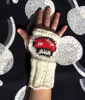 Super Mario Mushroom Wrist Warmers