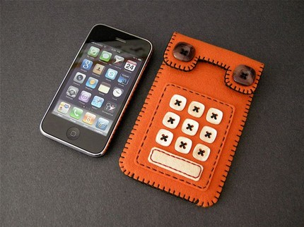 touch tone phone iphone case