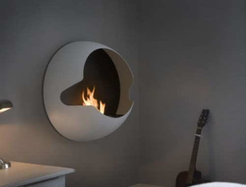 Sweet Wall Mounted Fireplace