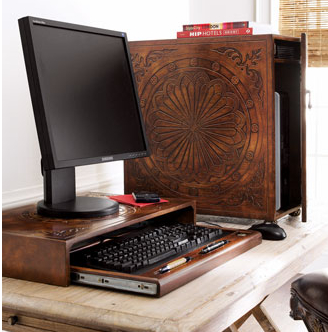 $200 CPU Stand from Neiman Marcus is Basically a Decorated Wood Box