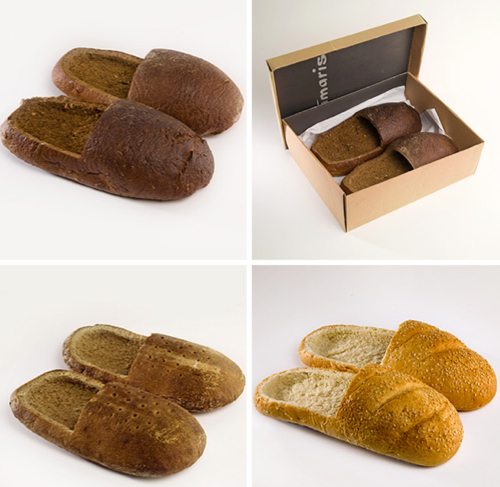 Bread Shoes Bread Shoes are Actually Made of Bread