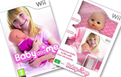 Dolls and Video Games All Together with the Baby Doll Wiimote Accessory