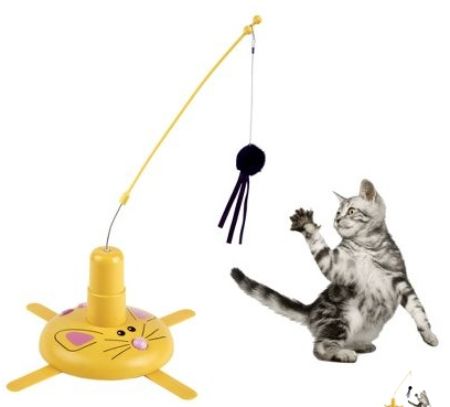 cavorting cat toy
