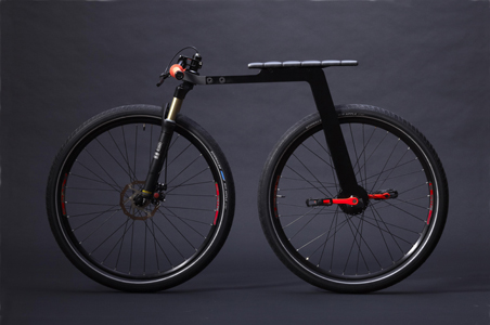 City Bike is So Minimal It Doesn't Need a Chain