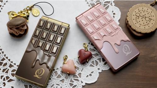 Q-Pot Melting Chocolate Phone from NTT Docomo