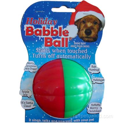 doggie babble ball