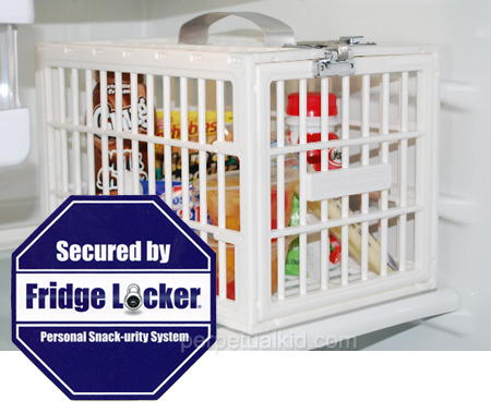 Fridge Locker Secures Your Food Inside Your Fridge