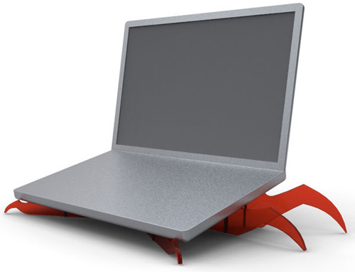 Monster Monster Laptop Stand Will Scare the Keys Right off Your Keyboard
