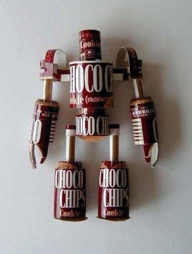 papercraft chocorobo