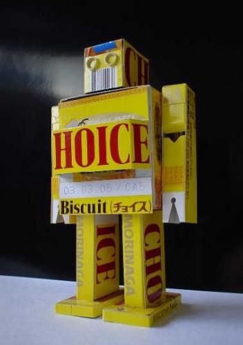 papercraft robot