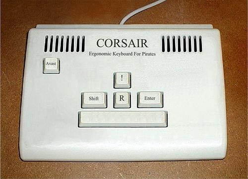 Special Keyboard Just for Pirates