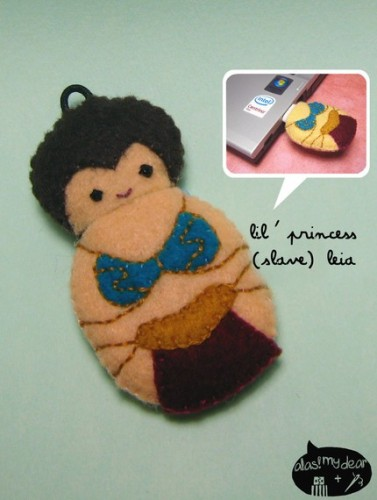 plush leia usb flash drive