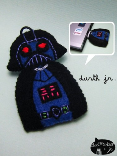 Super Cute Plush Star Wars Doll USB Flash Drives
