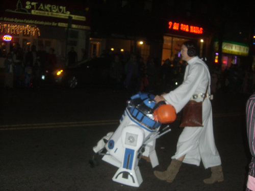 R2D2 Stroller Costume from Halloween