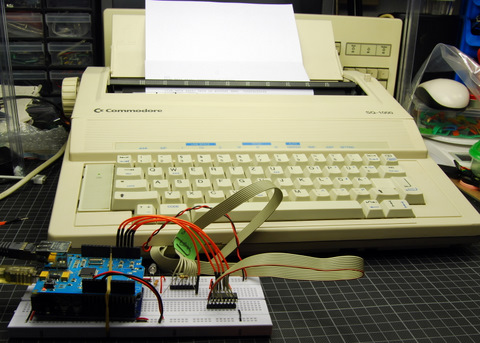 A Twittering Typewriter (Twypper)