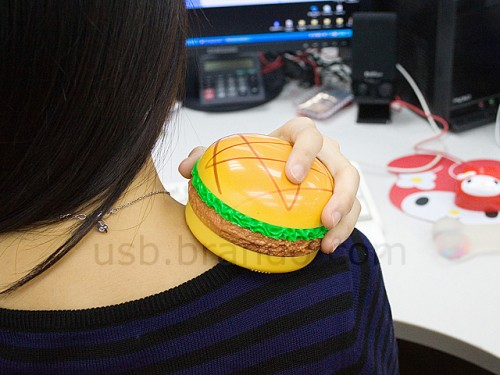 usb burger massager