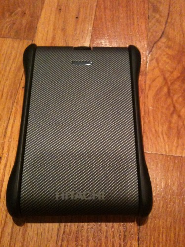 Review: Hitachi SimpleTough 500 GB USB Portable External Hard Drive
