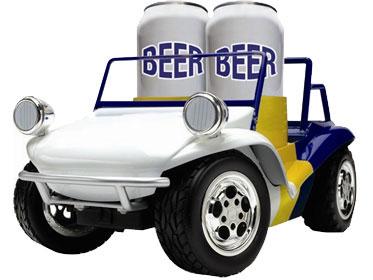 beer baja buggy