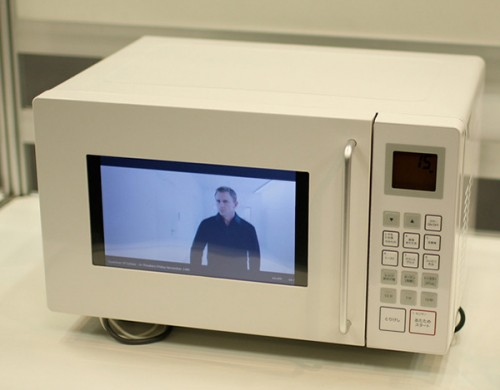 A Microwave That Plays YouTube Videos