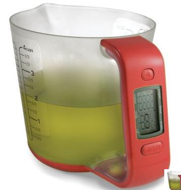 digital scale measureing cup