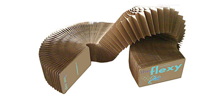 The Flexy is an Eco-Friendly Cardboard Slinky