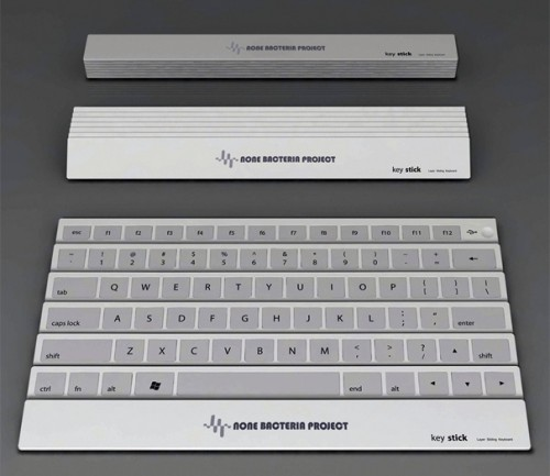 Foldup Keyboard Concept