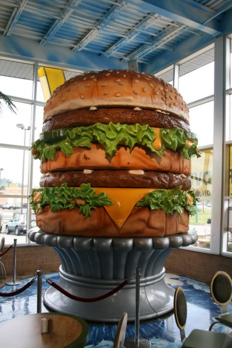 World's Largest Big Mac Replica