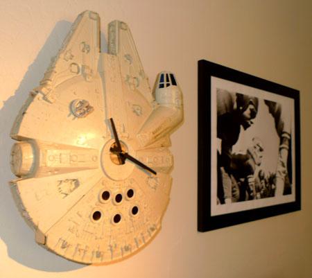 Millennium Falcon Clock