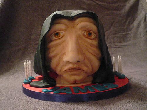 Star Wars Emperor Palpatine Cake