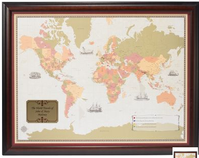 personal world map