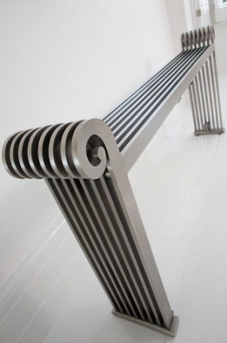 Hot Design: Radiator Bench