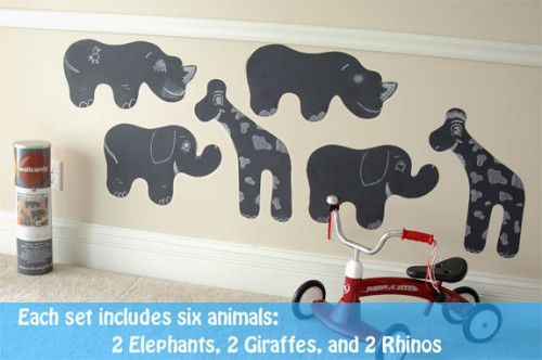 removable-wall-stickers-safari-animals