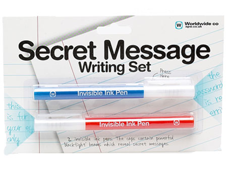 secret message pens