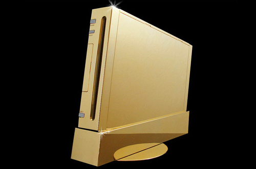 The $485,000 Solid Gold Wii Tops My Holiday Wish List This Year