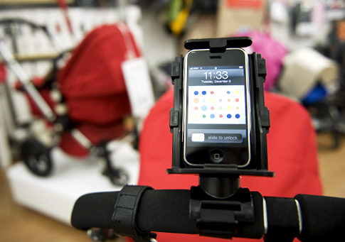 Texthook Lets You Text While Pushing a Stroller