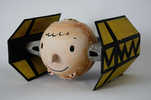 Charlie Brown Tie Fighter