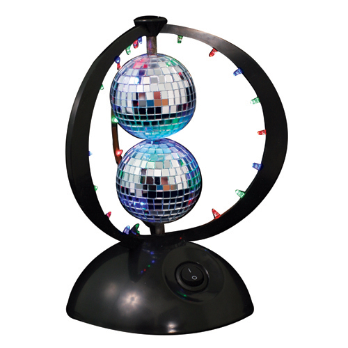 Disco Planet Double Disco Ball Light