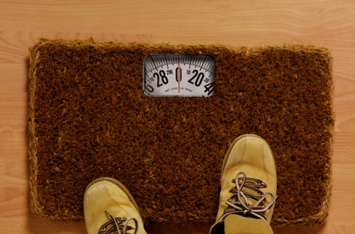 Doormat Scale- No Escaping this Weigh In