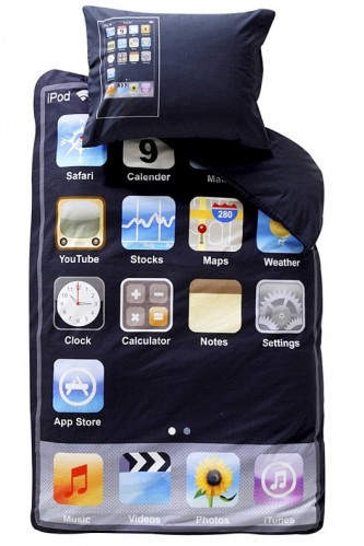 ipod touch bedding 333x499 Pinboard