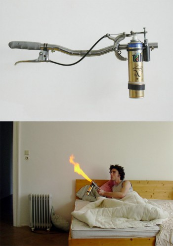 mosquito blowtorch 350x499 Mosquito Killing Flamethrower