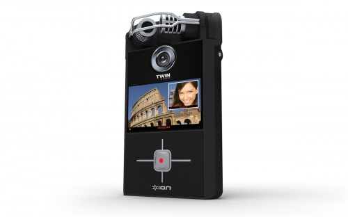 Ion Twin Video Camera Gets You Coming and Going