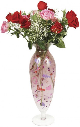 Valentine's Day Confetti Vase Kit Geekifies Your Flowers