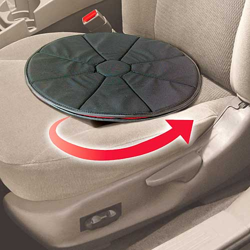 360 swivel seat 360 Swivel Seat is a Lazy Susan for Your Butt