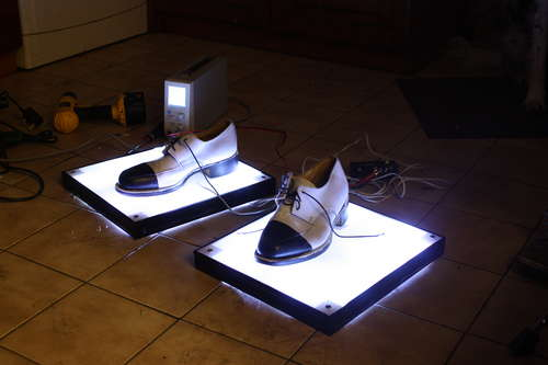 Michael Jackson Billie Jean LED Light-up Disco Shoes